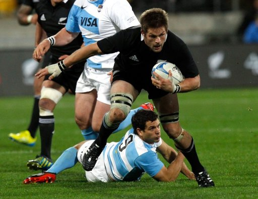 Richie McCaw, rested for last week's 42-10 win over Italy, takes the captain's armband back from Kieran Read