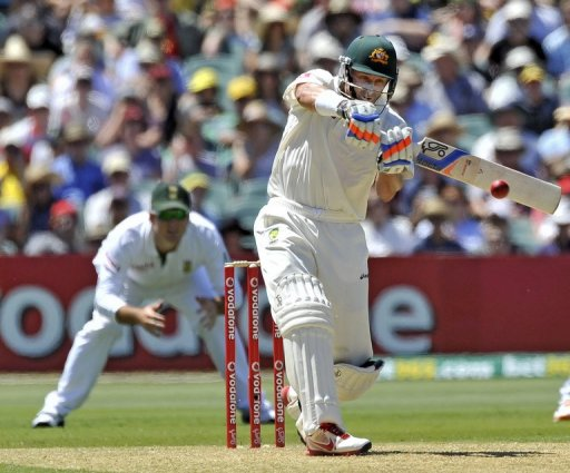 Hussey unleashed a whirlwind hundred