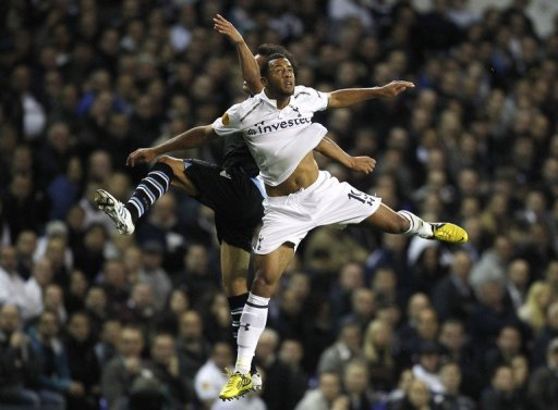 Spurs played Lazio at White Hart Lane in September