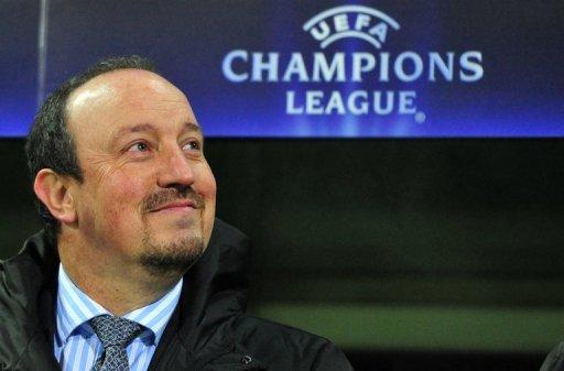 Rafael Benitez, pictured in 2010