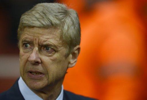 Arsenal's French manager Arsene Wenger at the Emirates Stadium on November 21
