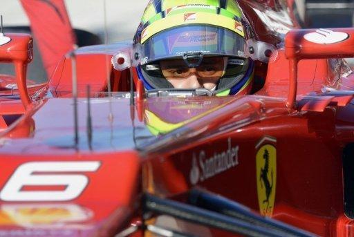 F1 driver Felipe Massa of Brazil