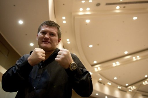 Ricky Hatton, pictured in April 2012