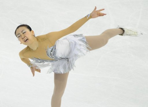 Mao Asada won the Cup of China in Shanghai earlier this month