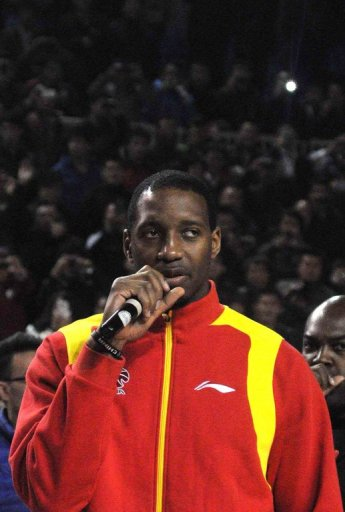Tracy McGrady caused a sensation when he signed for Qingdao last month
