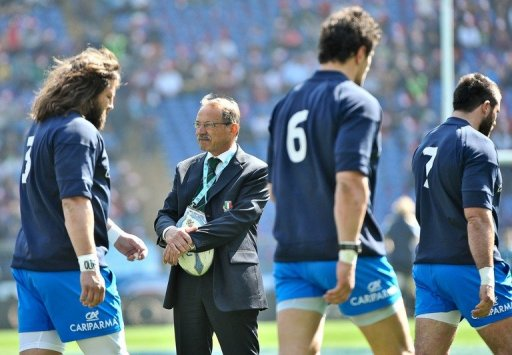 Italy coach Jacques Brunel wants his men to play a more open, expansive game