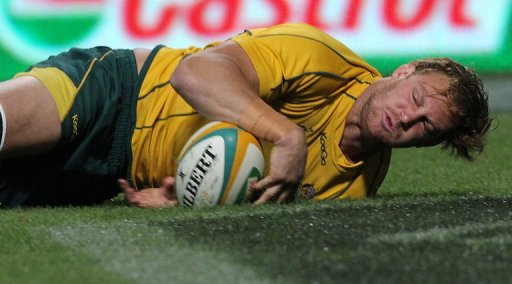 The Wallabies will be strengthened by the return from suspension of flanker Scott Higginbotham