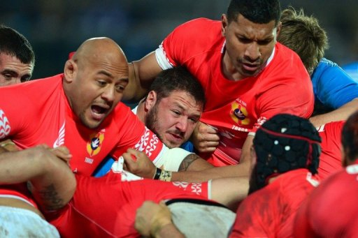 Tonga rugby union team are currently ranked No. 12 in the world