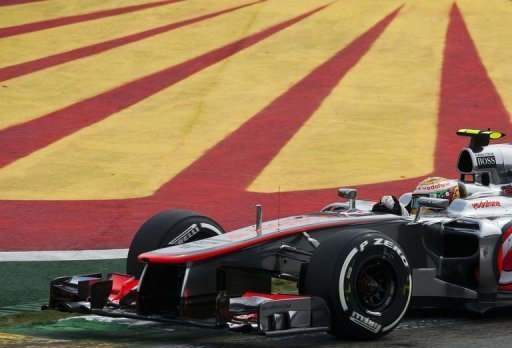 Lewis Hamilton will start his 110th and final race for McLaren from pole position