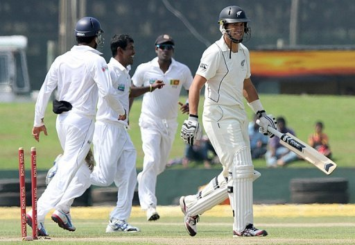 The 10-wicket defeat in the opening match in Galle on Monday was the fifth consecutive Test loss for the Black Caps