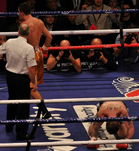 A former world champion at light-welterweight and welterweight, Ricky Hatton was well beaten