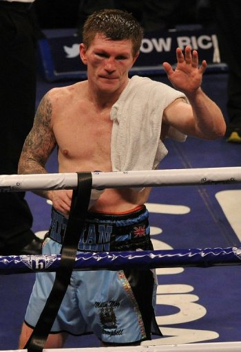 The colourful Ricky Hatton is one of the most popular British boxers of the modern era