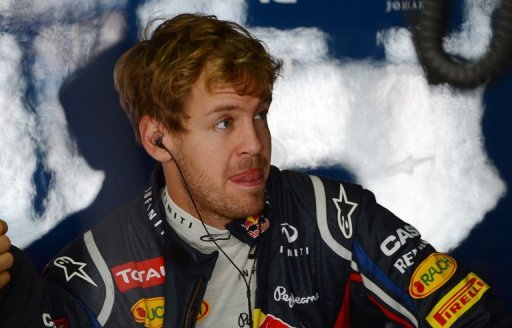 All Sebastian Vettel has to do is finish in the top four to take his third successive world title