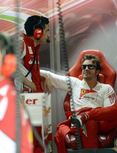 Fernando Alonso denied he and Ferrari had gone for a fully wet set-up in qualifying in anticipation of Sunday rain