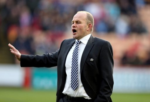 Andy Robinson had been under contract to coach Scotland until 2015