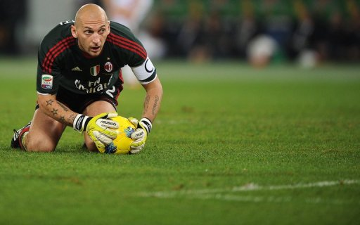 Christian Abbiati, pictured in 2011