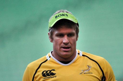 South Africa captain Jean de Villiers