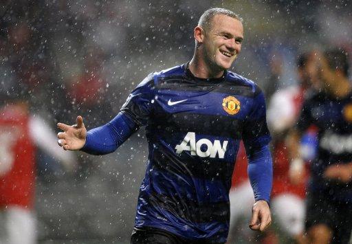 Wayne Rooney, pictured on November 7