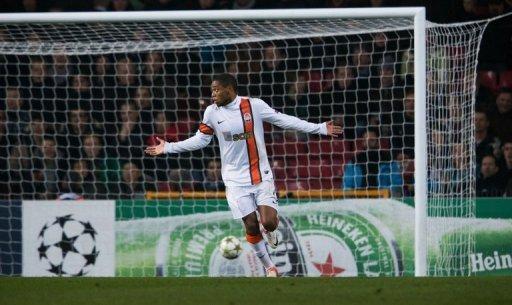 Shakhtar Donetsk forward Luiz Adriano