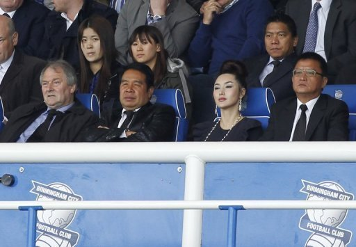 While on trial Carson Yeung has been unable to travel to Britian to attend to his duties as Birmingham City owner