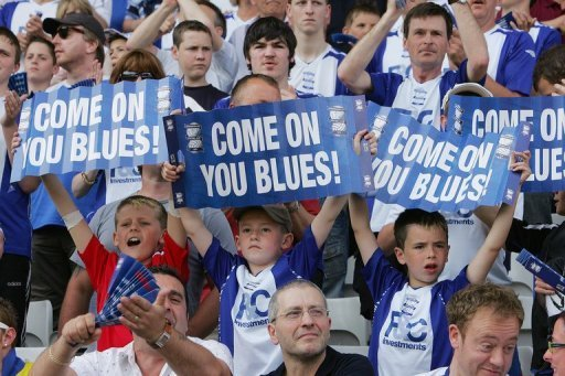 Birmingham City have been relegated from the Premiership league amid financial troubles