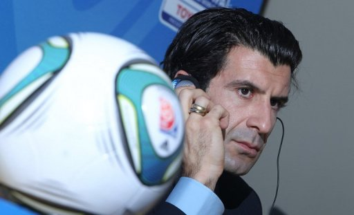 Luis Figo, pictured in 2010