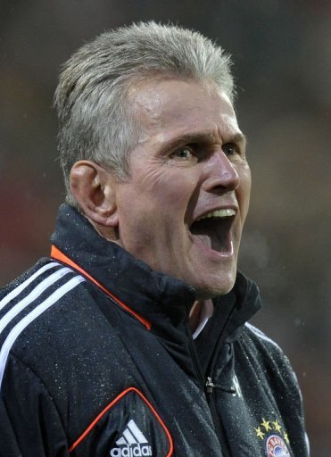 Bayern coach Jupp Heynckes saw his side take the lead after only 12 minutes when Thomas  Mueller slotted home a penalty