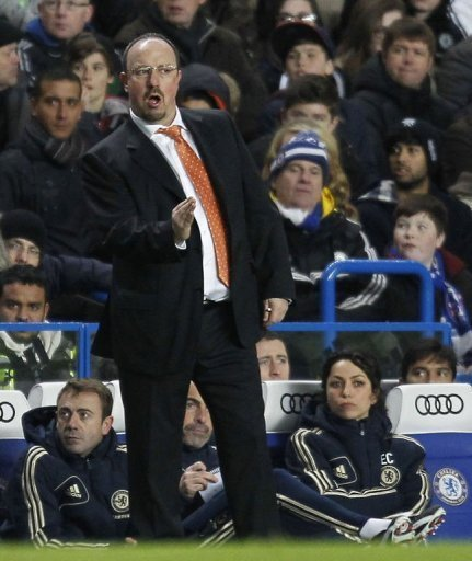 Chelsea's interim manager Rafael Benitez saw his side draw 0-0 again