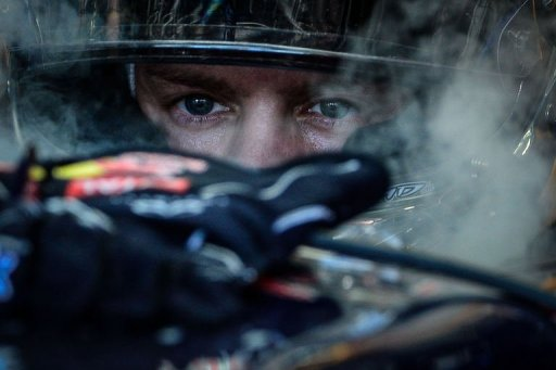 German Formula One driver Sebastian Vettel is pictured before the start of the Brazilian Grand Prix
