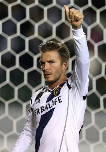 David Beckham will play his final MLS match on Saturday, when his L.A. Galaxy attempt to repeat as MLS Cup champions
