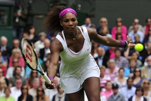 Serena Williams was previously honoured with the WTA award in in 2002, 2008 and 2009.