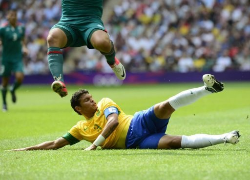 Brazil lost to Mexico in the final of the London Olympics men's football at Wembley