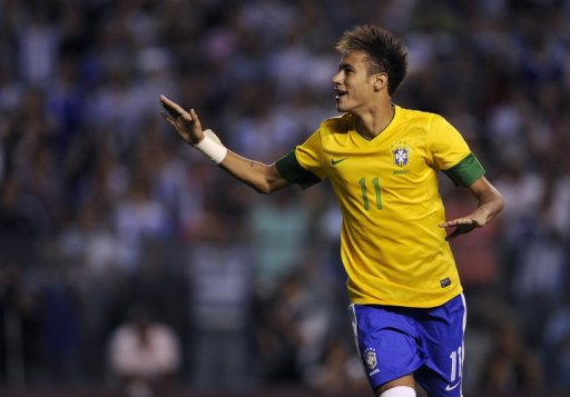 Brightest current star Neymar is only 20