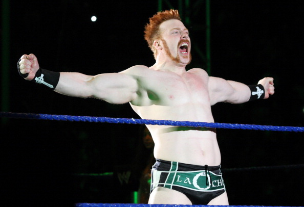 DURBAN, SOUTH AFRICA - JULY 08:  The Celtic Warrior Sheamus during the WWE Smackdown Live Tour at Westridge Park Tennis Stadium on July 08, 2011 in Durban, South Africa.