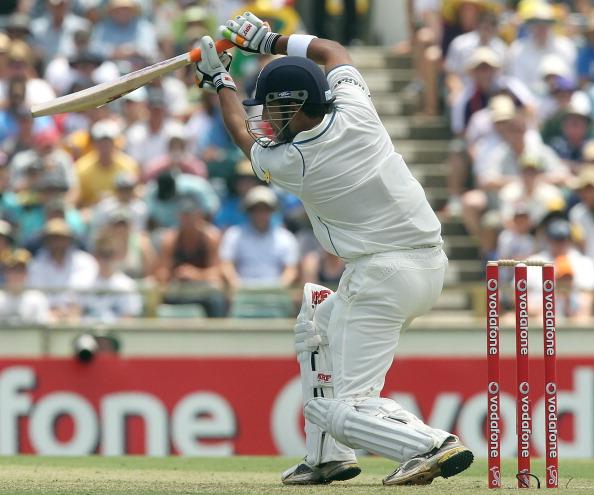 Indian batsman Gautam Gambhir plays a co