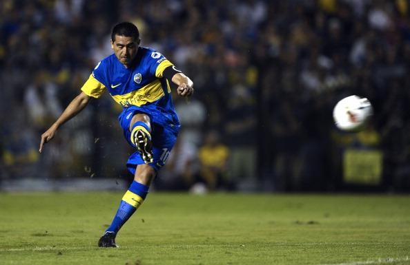 Argentinian Boca Juniors' midfielder Jua