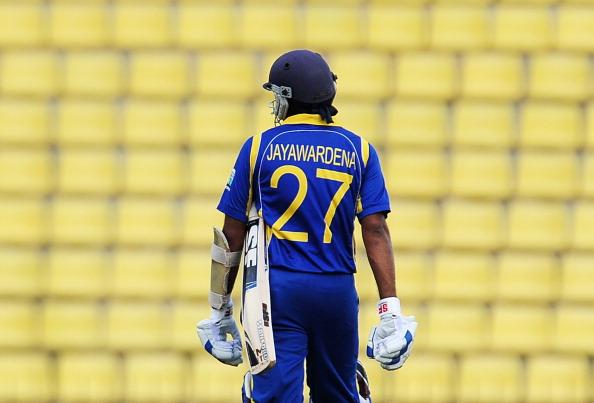Sri Lankan captain Mahela Jayawardene wa