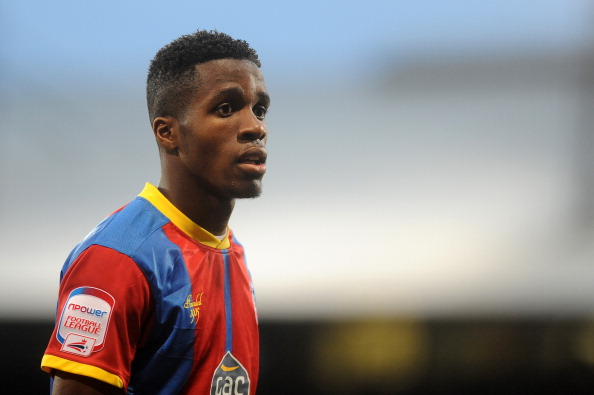 LONDON, ENGLAND - NOVEMBER 17: Wilfried Zaha of Crystal Palace during the npower Championship match between Crystal Palace and Derby County at Selhurst Park on November 17, 2012 in London, England.