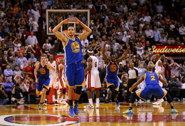 Stephen Curry #30 has led the Golden State Warriors ably.