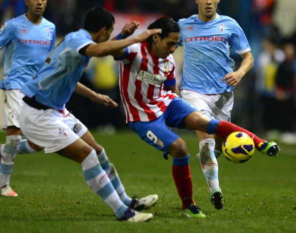 For a change, Falcao didn't score for Atletico