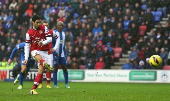 Wigan Athletic v Arsenal - Premier League