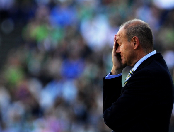 ..leaving Betis manager Pepe Mel to rue this upset loss
