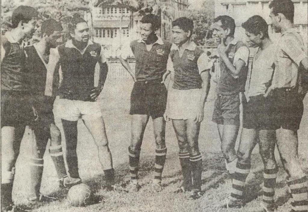 Resultado de imagen para india football melbourne 1956