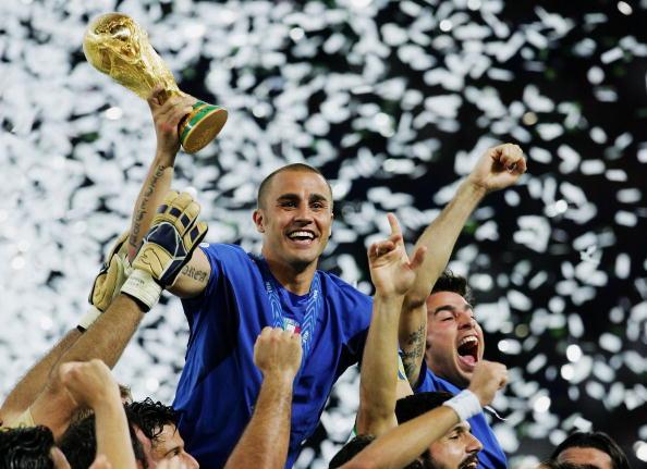 نتيجة بحث الصور عن fabio cannavaro world cup