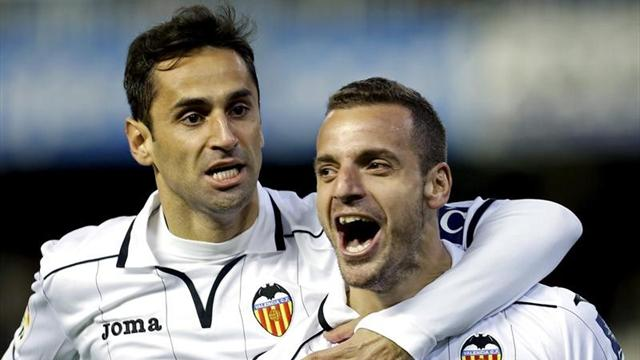 Soldado had a goal and an assist in Valencia's 4 - 2 win over Getafe