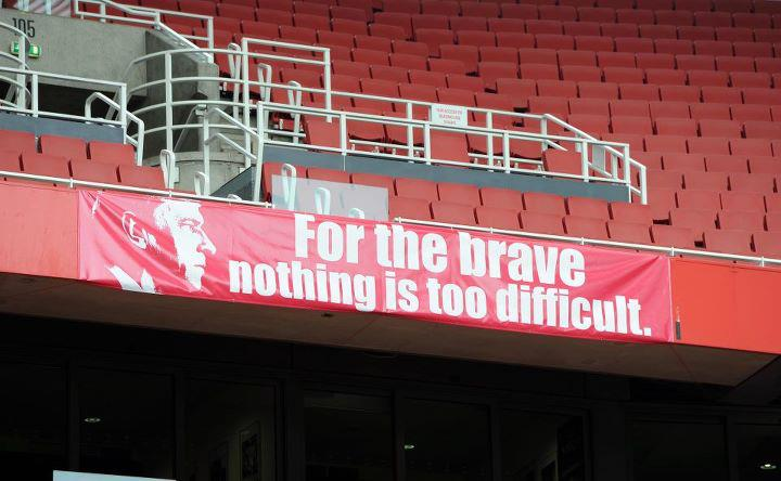For the brave nothing is too difficult