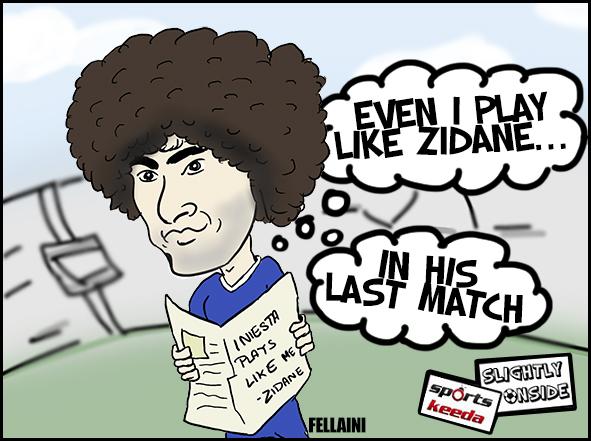 Fellaini's role model