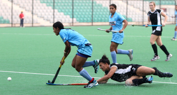 India v New Zealand - Lal Bahadur Shastri U-21 Four Nation Women Hockey Tournament