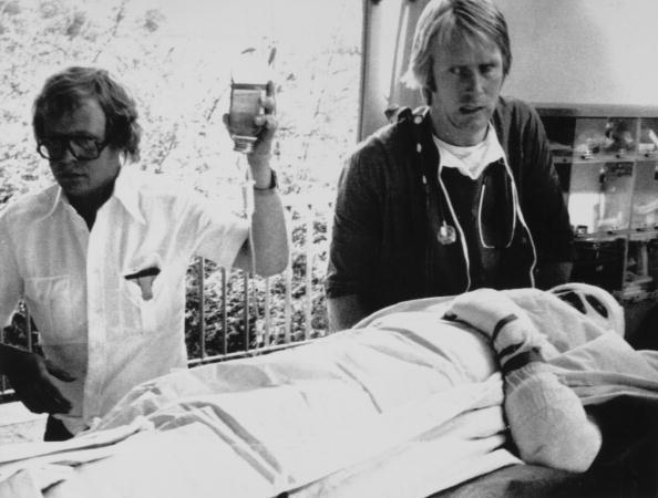 Lauda In Hospital
