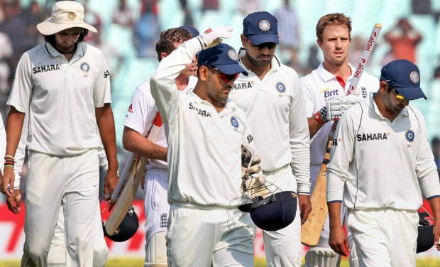 Team India's Walk of Shame